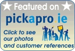 See our work on pickapro.ie